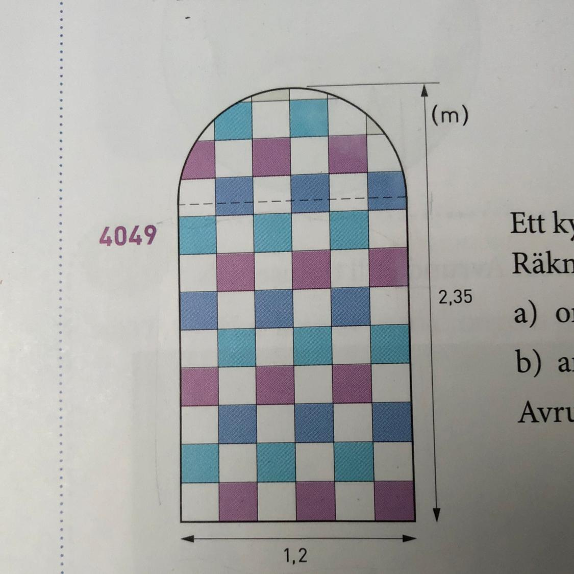 How To Calculate The Area And Perimeter Of This Figure