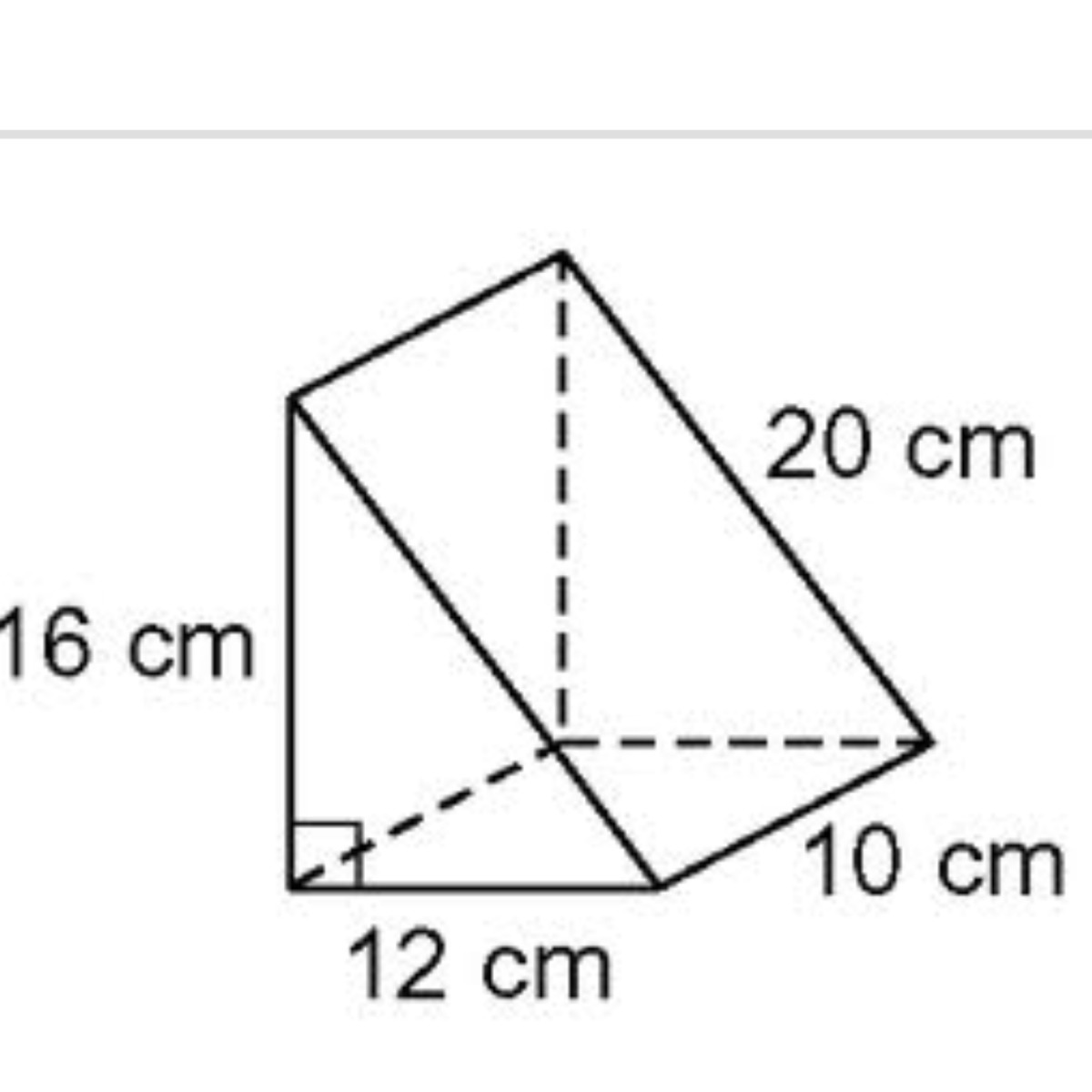 What Is The Volume Of The Triangular Prism