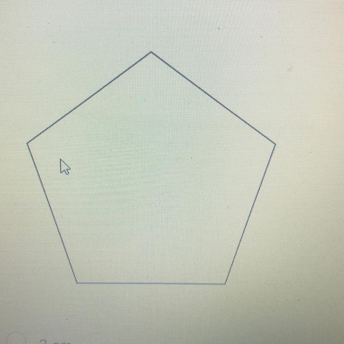 The Perimeter Of The Regular Polygon Shown Is 18 Cm What