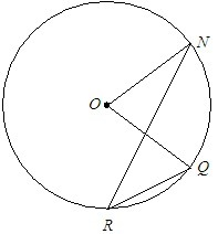 35 Circle O Is Shown Below The Diagram Is Not Drawn To
