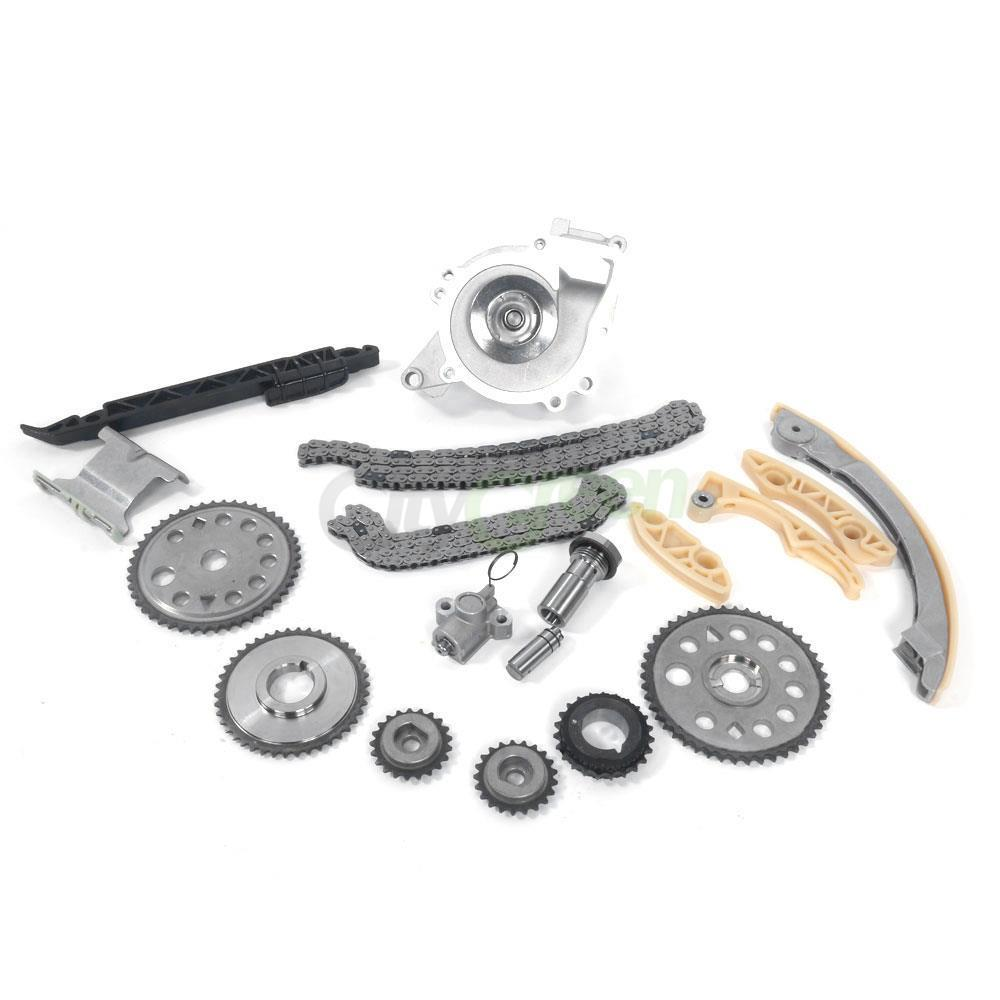 Timing Chain Kit Water Pump Guide Rail for Saturn