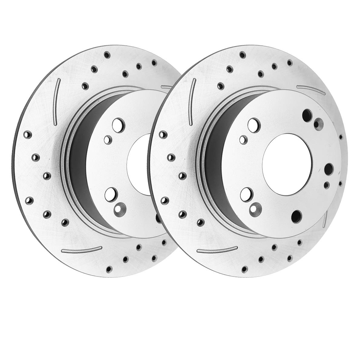 Rear Brake Rotors For 03 04 Acura Tsx Honda Accord Coupe