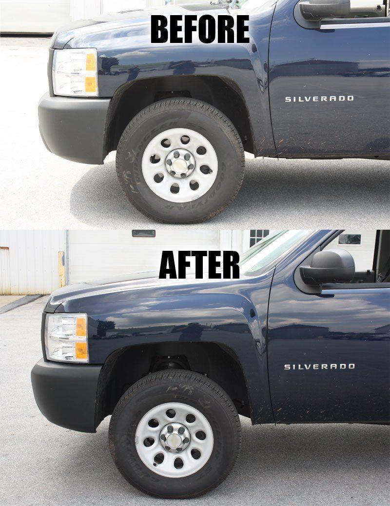 Lift Kit Before And After : before, after, Front, Leveling, 2007-2018, Silverado, Sierra, 2WD/4WD