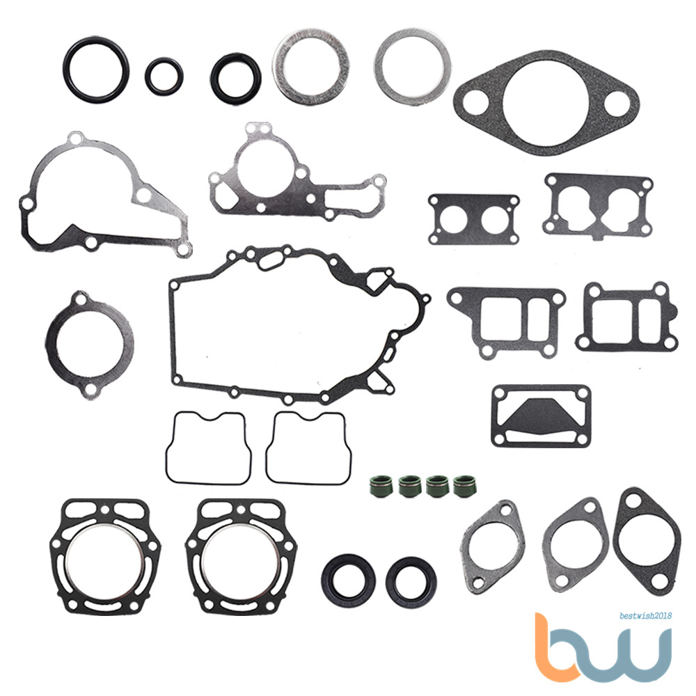 New Full Gasket Kit For Kawasaki KAF620 Mule 2500 2510