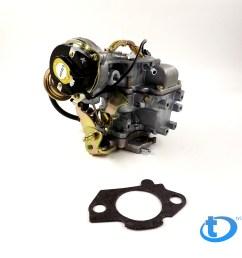 carburetor type carter yfa 1 barrel electric choke fit for ford 4 9l 300 cu f150 [ 1000 x 1000 Pixel ]