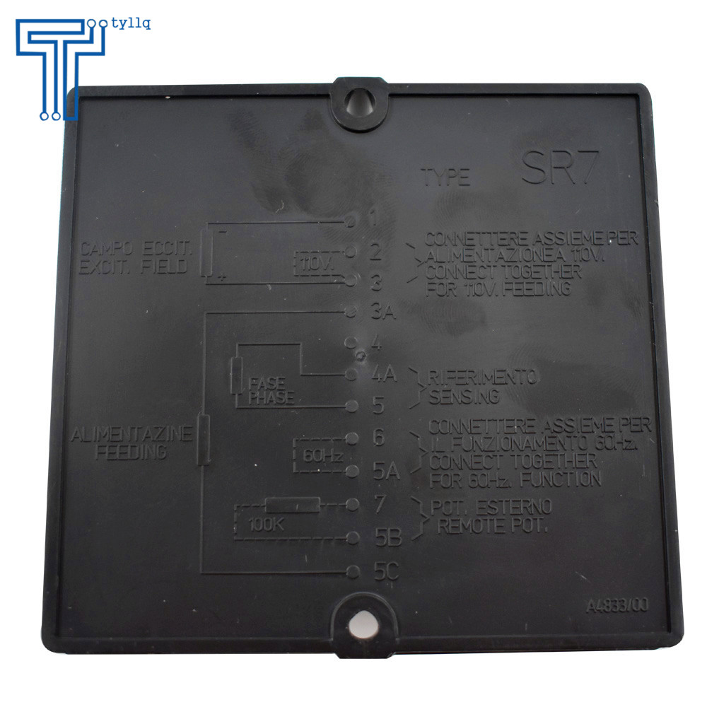 hight resolution of new avr sr7 automatic voltage regulator replacement for meccalte from ca