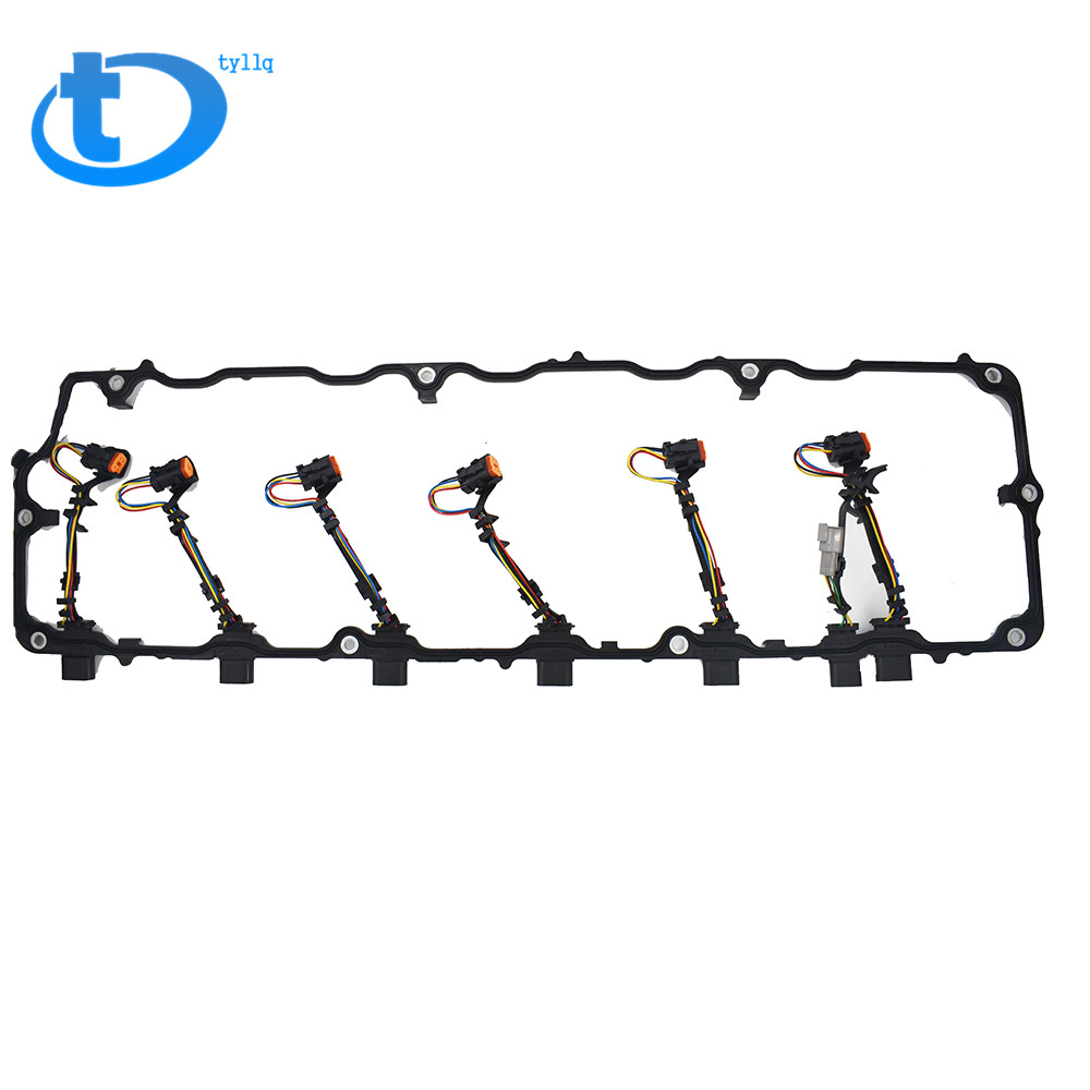 hight resolution of details about international truck for 04 07 dt466e 570 valve cover gasket harness 1842380c95