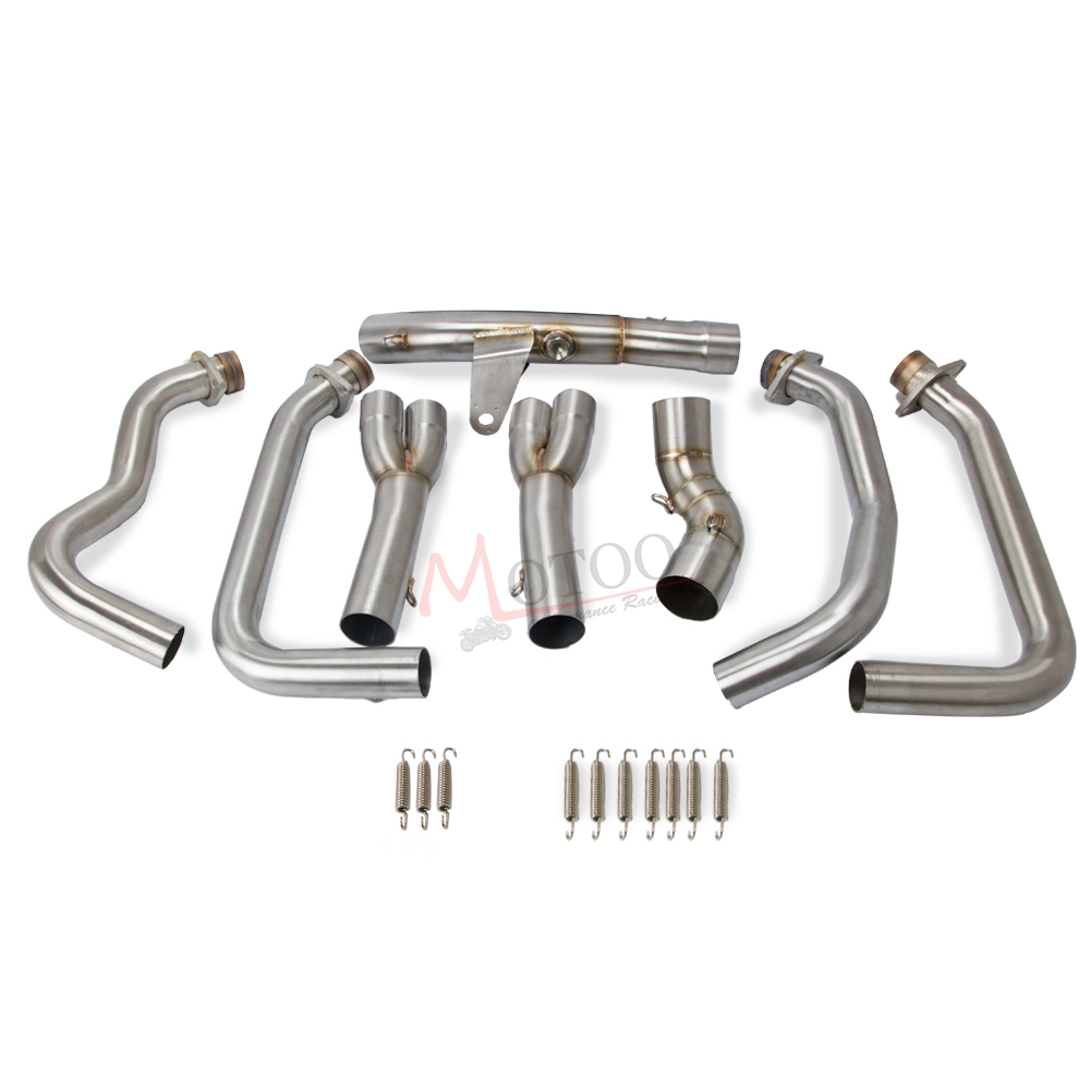 Full Exhaust System Modified Header Pipe For Kawasaki Z900
