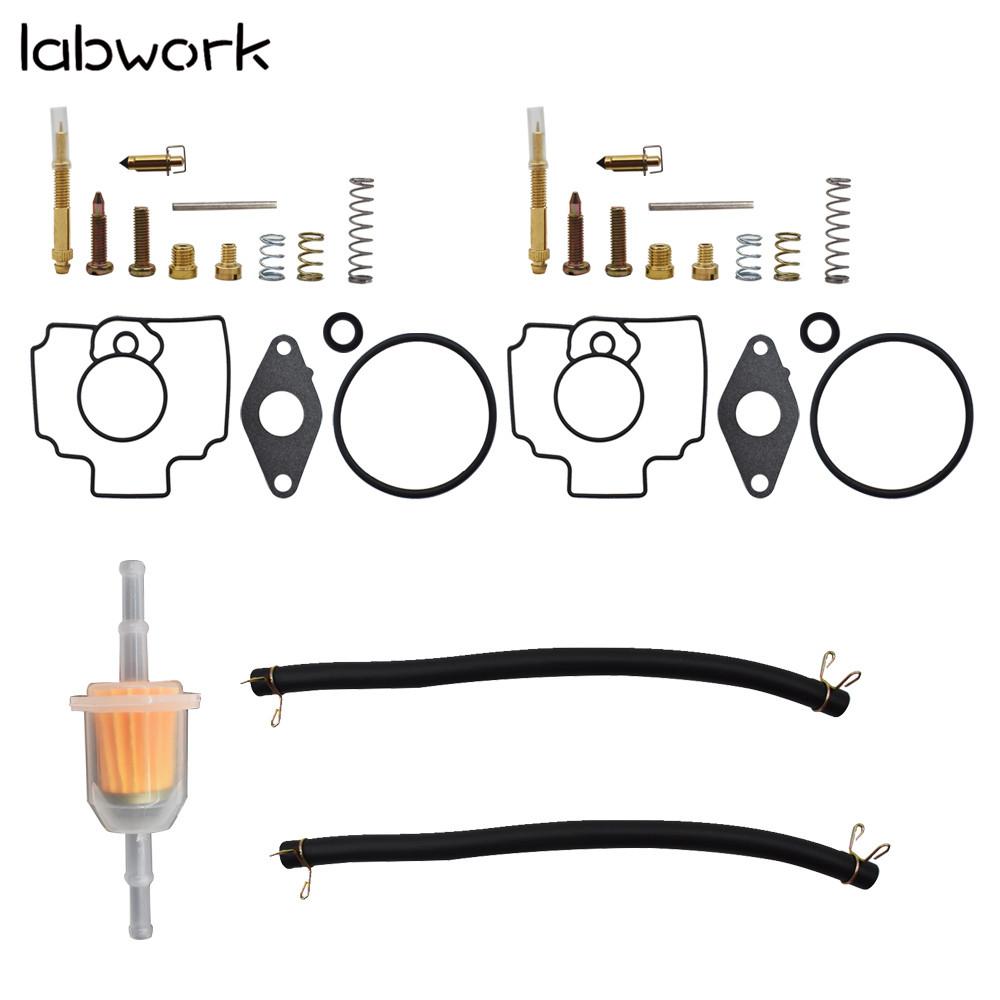 Carb Carburetor Rebuild Kit For John Deere Mower 345 425