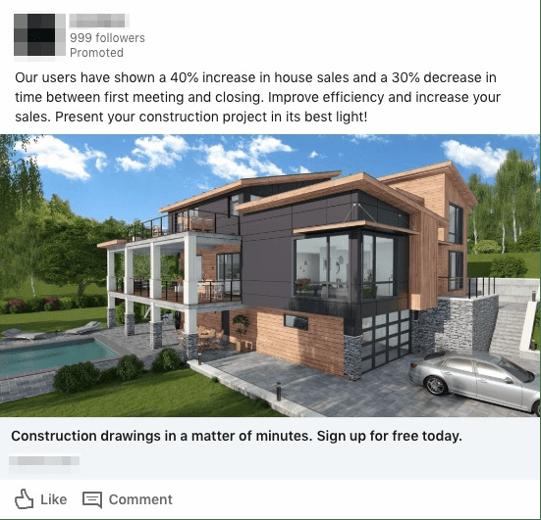 Publicité illustrée sponsorisée par LinkedIn.