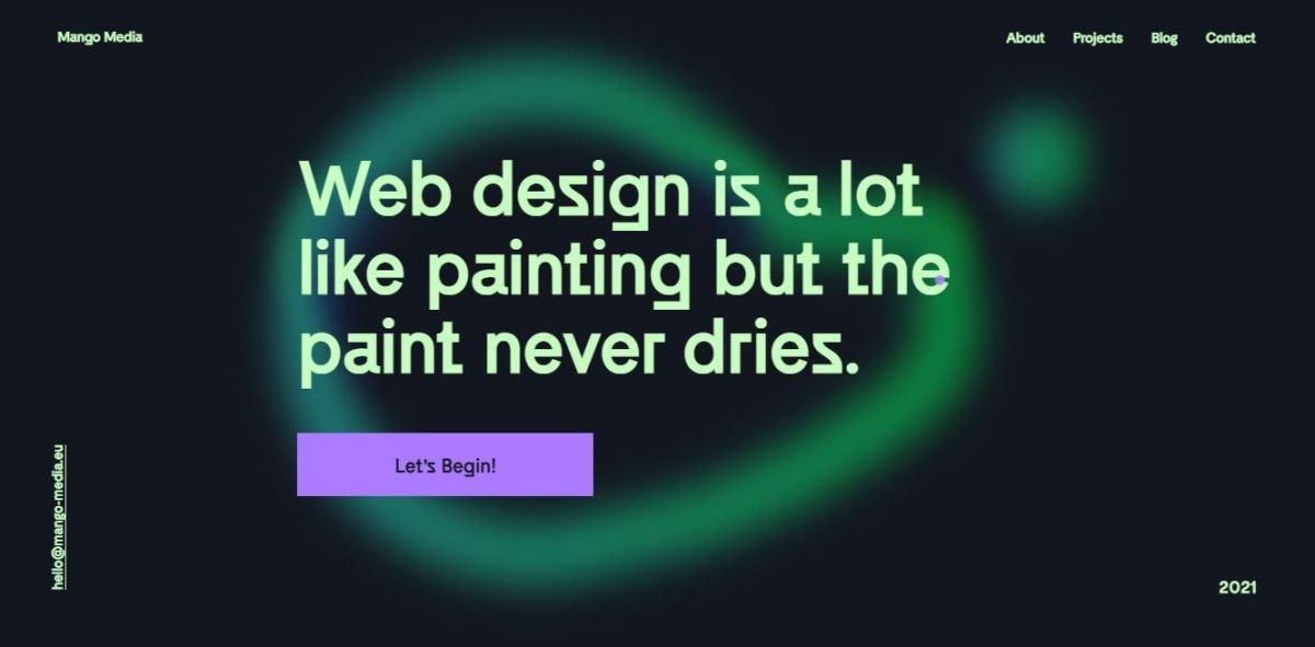 Web designer's website.