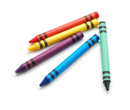pastel crayon: crayons de cire