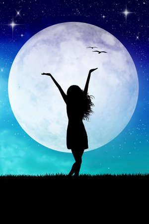 Full moon Stock Photo - 23792387