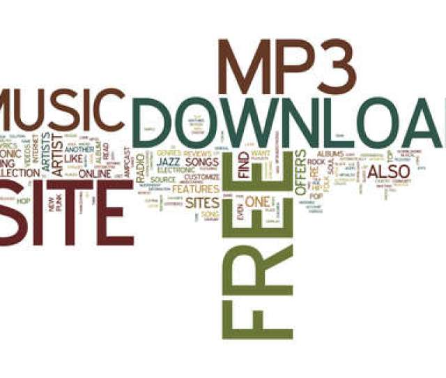 Free Mp Download Site Text Background Word Cloud Concept Stock Vector 82596688