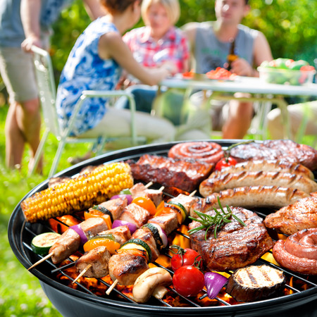 barbecue stock photos and