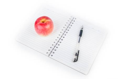 apple glasses and pen