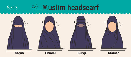 The different types of coverings worn by muslim women are hijab, burqa, abaya and niqab. 4 416 Niqab Stock Photos And Images 123rf