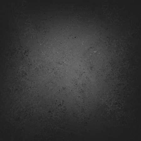 solide fond noir avec un centre gris clair conception de texture de fond vintage affligee tableau noir