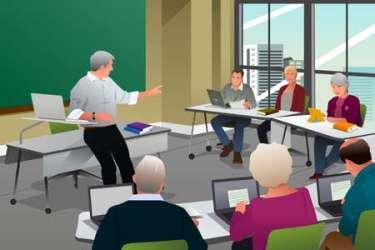 Classroom Cartoon Stock Photos And Images 123RF