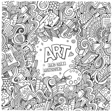 Art Supplies Stock Vector Illustration And Royalty Free Art Supplies Clipart
