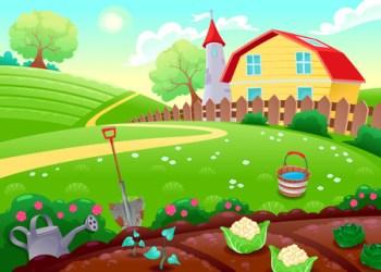 Cartoon Garden Cliparts Stock Vector And Royalty Free Cartoon Garden Illustrations