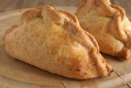Traditional meat and potato Cornish pasty Stock Photo - 37038214
