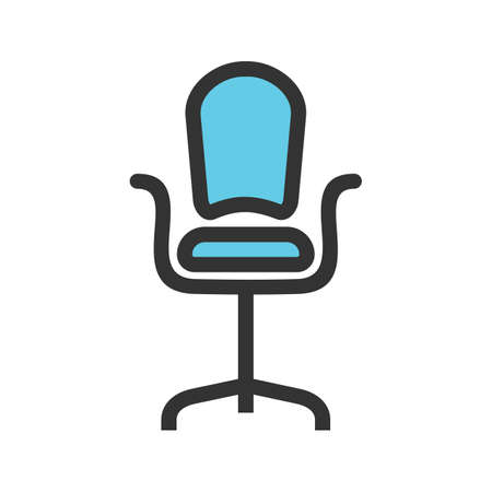 revolving chair used dental office waiting room chairs 78 stock illustrations cliparts and royalty free seat icon vector image can also be for furniture design