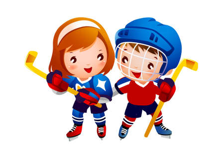 Ice hockey player  Stock Vector - 15946131