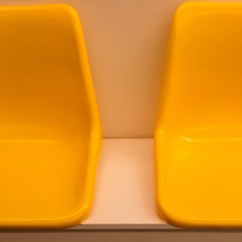 Chair Design Bangkok Power Batteries Empty Yellow Interior Seat In Electricity Train Transportation Sky Modern A