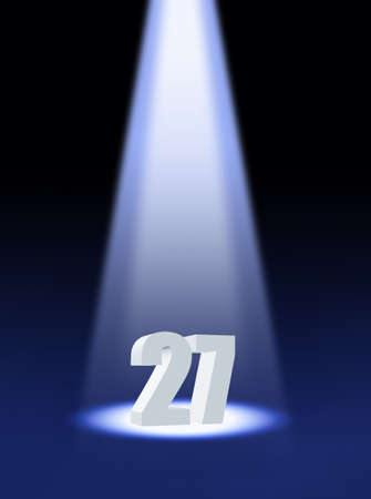 numbers 27 SPOTLIGHT: twenty seven
