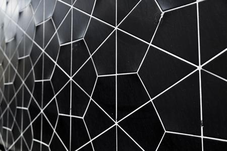 noir texture de mur de carreaux de
