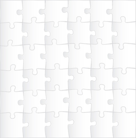 Blank Puzzle Template Background - Illustration Royalty Free ...