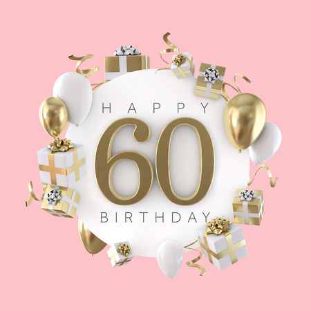 60th birthday stock photos