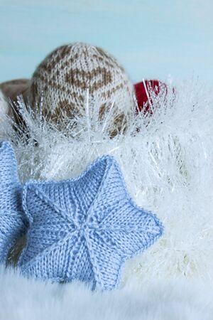 Knitting Christmas Ornaments