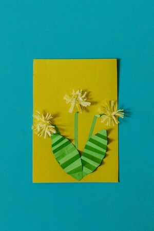 Spring Summer Diy Kid Paper Craft Ideas Preschool Activities Stock Photo Picture And Royalty Free Image Image 138618298