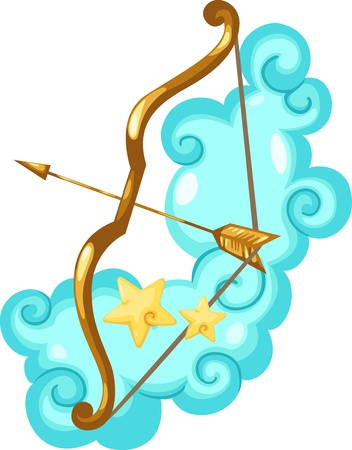Zodiac signs -Sagittarius Illustration  Stock Vector - 15657322