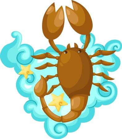 Zodiac signs - scorpio Illustration  Stock Photo - 15657324