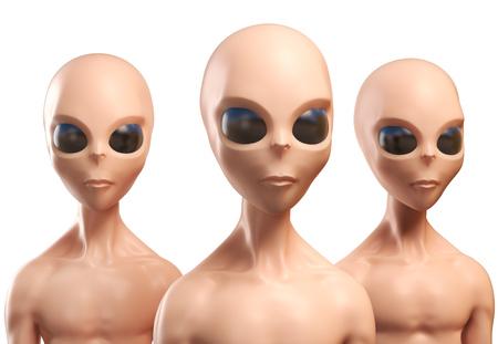 alien: Aliens 3d illustration