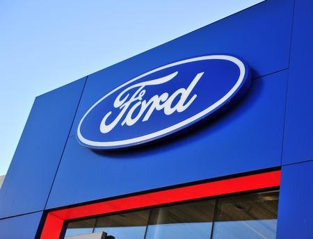 ford logo stock photos