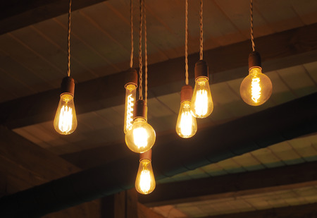 vintage edison filament bulbs