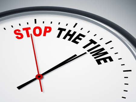 An image of a nice clock with stop the time Stock Photo - 11739986
