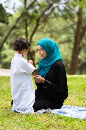 muslim baby stock photos