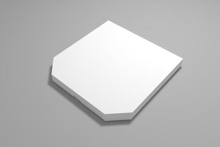 3d illustration pizza box