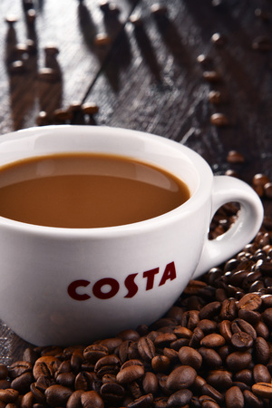 costa coffee stock photos