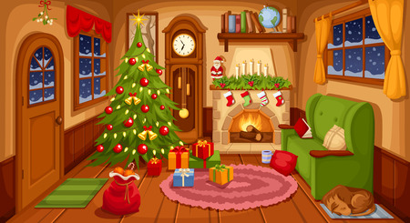 living room pictures clipart window decorating ideas for 81 447 cliparts stock vector and royalty free illustration of christmas with sofa fireplace clock fir tree