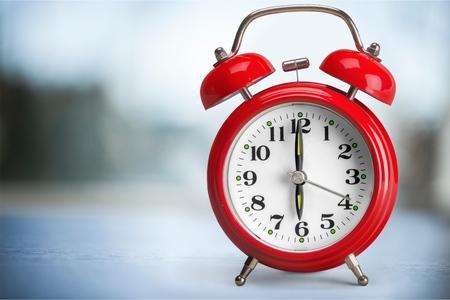 alarm clock ringing stock