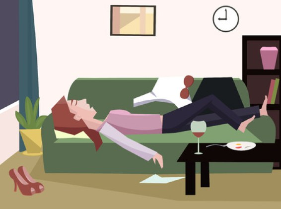 17,010 Tired Woman Stock Illustrations, Cliparts and Royalty Free Tired  Woman Vectors