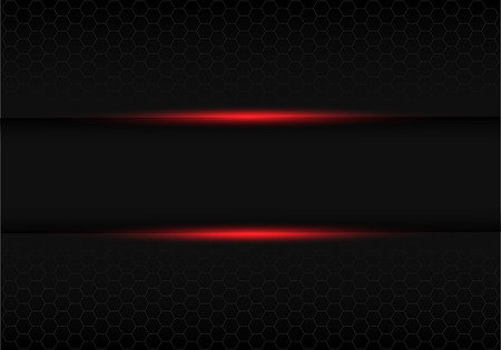 abstract black banner red