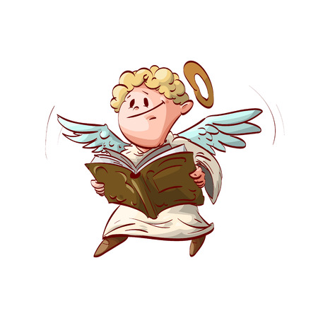 Image result for angel reading clipart images