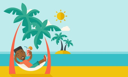 Cartoon Vacation Stock Photos And Images 123rf